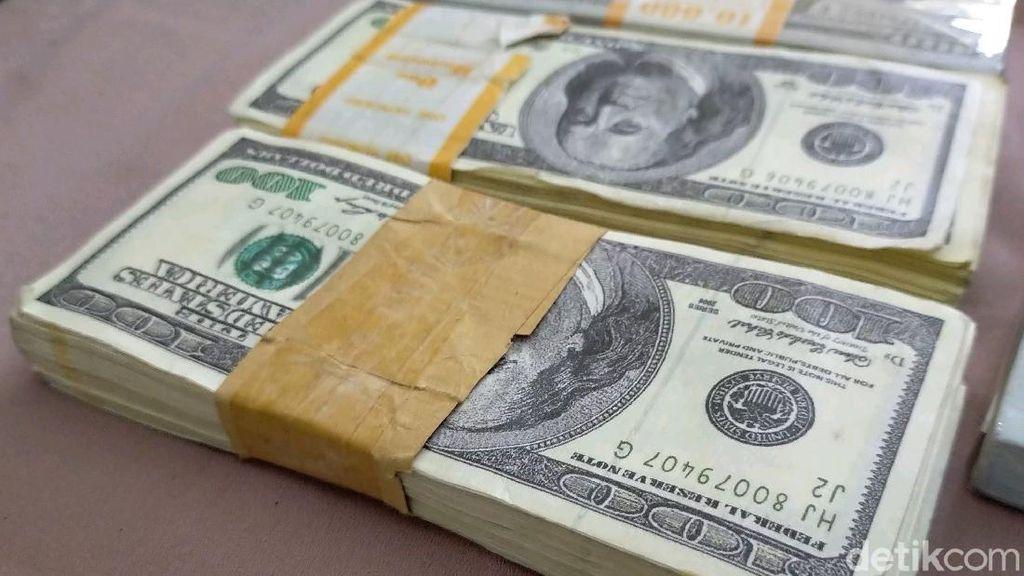 Kualitas Uang Asing Palsu Rp 2,8 Triliun Sangat Mirip dengan yang Asli