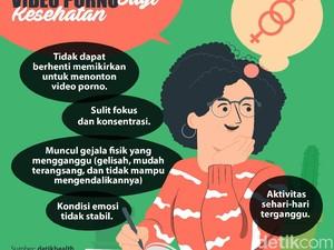 5 Dampak Buruk Kebiasaan Nonton Video Syur bagi Kesehatan