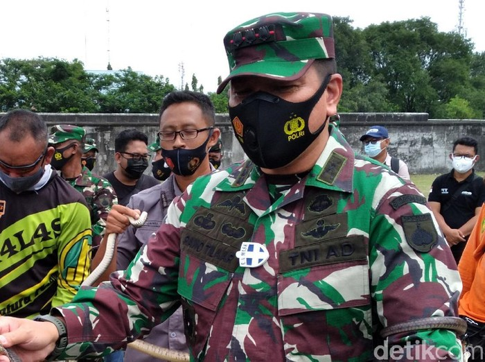 Danrem 074/Warastratama Kolonel Inf Rano Tilaar, Solo, Sabtu (27/2/2021).