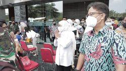 Target Vaksinasi Lansia di Jatim 3 Ribu Orang Selama 2 Hari