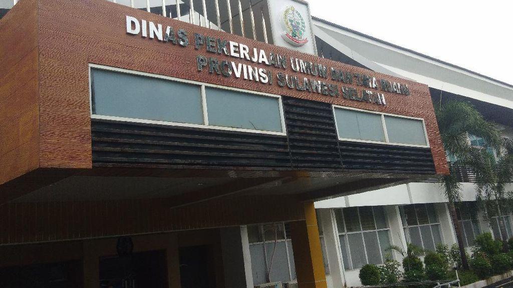 Sekdis PU Kena OTT KPK Bareng Gubernur Sulsel, Kantor Disegel