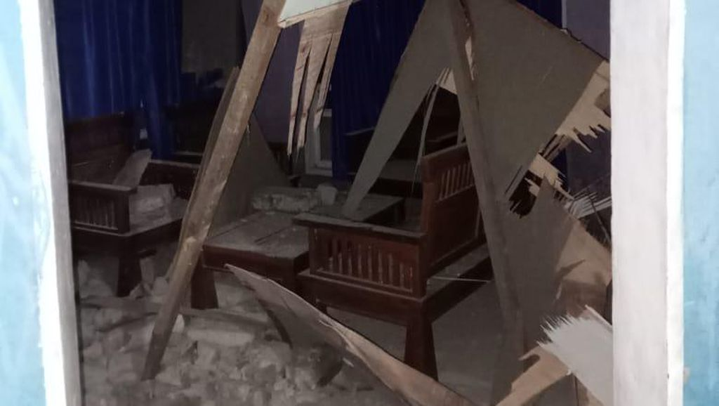 Gempa M 5,2 Guncang Halmahera Selatan, Puluhan Bangunan Rusak