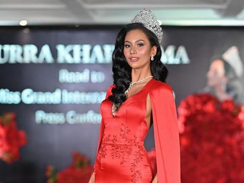 Miss Grand Indonesia 2020 Aurra Kharisma
