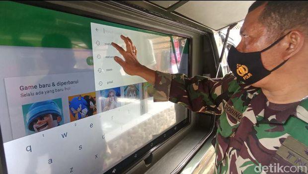 Mobil 'Si Hijau' Multifungsi Milik Kodim Karawang