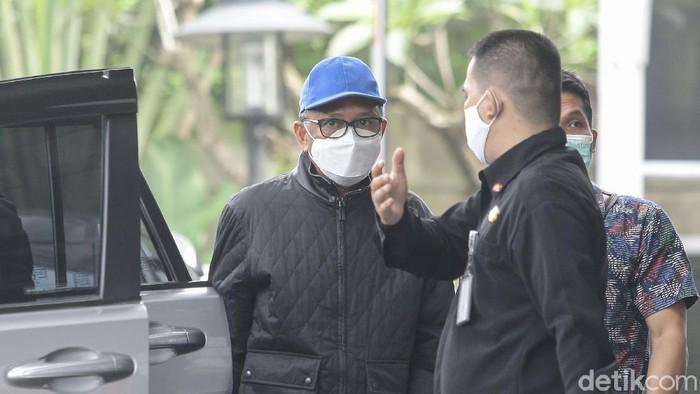 Momen Gubernur Sulsel Nurdin Abdullah Tiba di KPK