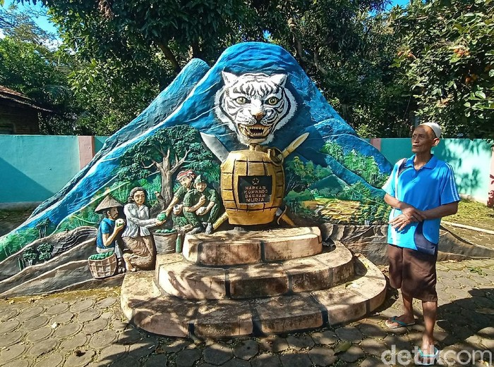 Monumen Markas Komando Daerah Muria yang berada di Desa Glagah Kulon, Kecamatan Dawe, Kudus, Sabtu (27/2/2021).