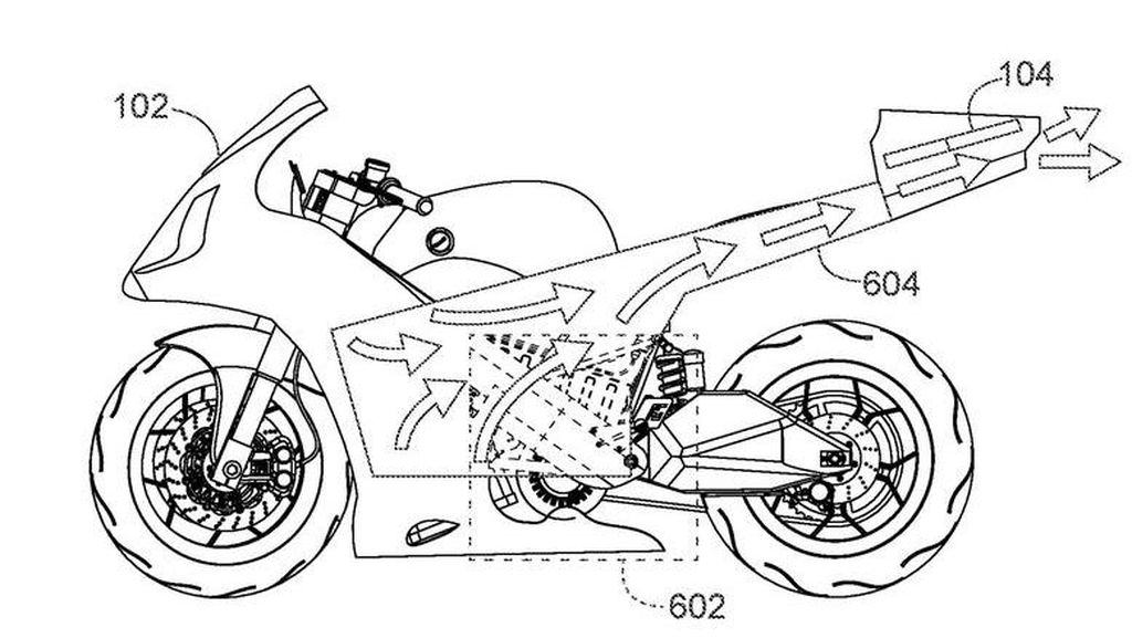 Keren! Honda Bikin Motor Dilengkapi Drone