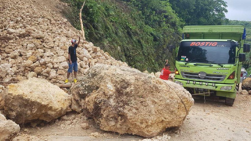 Usai Gempa di Sulbar, 60 Titik Longsor Telah Dibersihkan