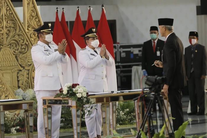 Pelantikan Wali Kota dan Wakil Wali Kota Semarang