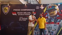 Cerita Sean Gelael di Abu Dhabi, Kram Kaki-Perut Usai Balapan 3 Jam