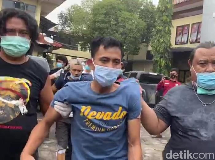 Pencuri truk antar provinsi ditangkap di Brebes, Sabtu (27/2/2021).
