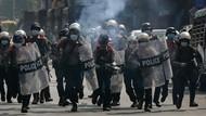 Tak Mau Disuruh Menindas Demonstran, 19 Polisi Myanmar Kabur ke India