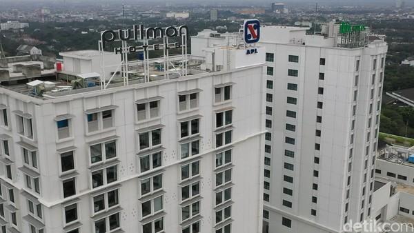 Hotel bintang 5 ini berada di Jalan Diponegeoro nomor 27, alias berada persis di depan Gedung Sate.(Bonauli/Mimo/detikcom)