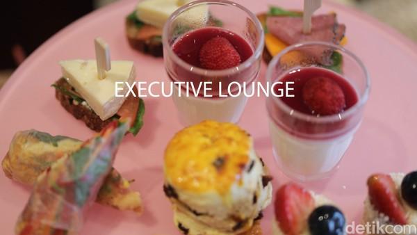 Buat tamu yang menginap di tipe kamar Executive ke atas, bisa dapat akses ke executive lounge gratis.(Bonauli/Mimo/detikcom)