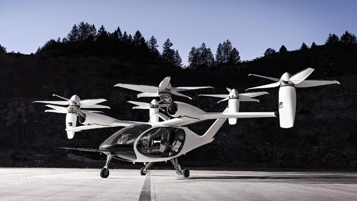 Taksi Terbang Buatan Joby Aviation di Amerika Serikat
