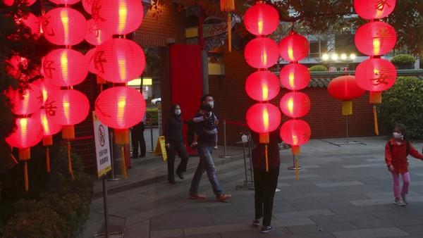 Festival tersebut menandai berakhirnya perayaan Tahun Baru Imlek di Taipei.