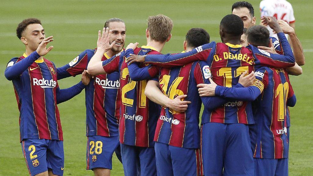 Karena Barcelona Belum Menyerah Buru Gelar Juara