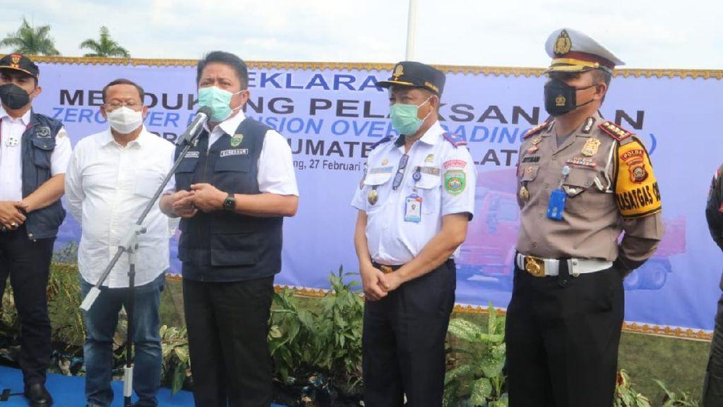 Gubernur Sumsel Dukung Normalisasi Muatan Angkutan