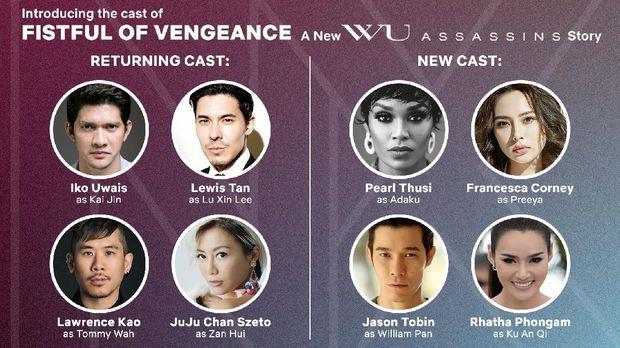 Iko Uwais kembali untuk Wu Assassins