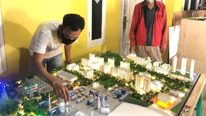 Maket proyek pembangkit listrik Famous Studio Maket Jakarta Joglo