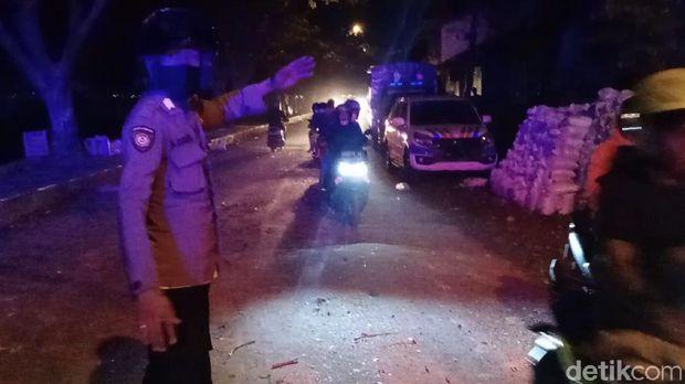 Lokasi bentrok di Ambon, Maluku (Muslimin Abbas/detikcom)