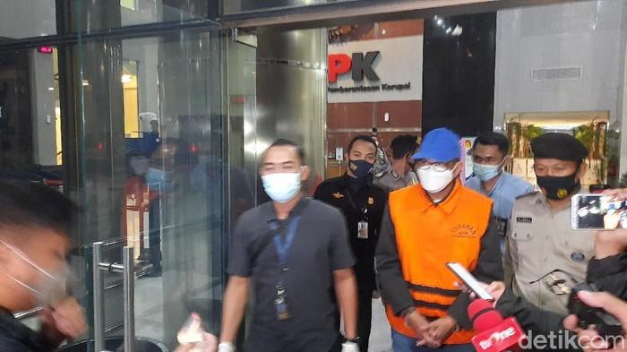 Nurdin Abdullah dibawa ke Rutan KPK