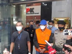 Diborgol, Gubernur Sulsel Nurdin Abdullah Dibawa ke Rutan KPK