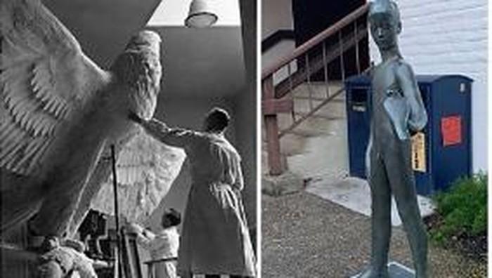 patung karya seniman Jerman di era Nazi