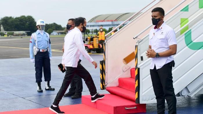 Presiden Joko Widodo bertolak ke DIY