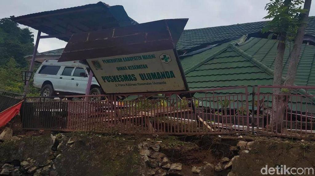 Gedung Rusak, Pelayanan Puskesmas di Sulbar Dialihkan ke Tenda Darurat