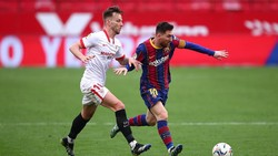 Sevilla Vs Barcelona: Dembele-Messi Menangkan Barca 2-0