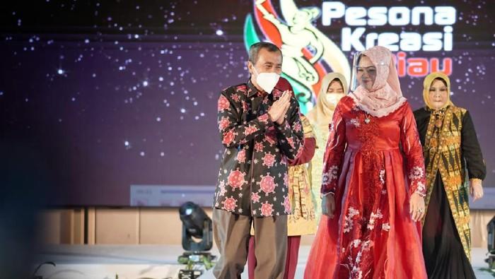 Acara launching Yayasan Pesona Kreasi Riau di Pekanbaru 19 Februari lalu (dok Diskominfo Pemprov Riau)