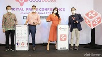 Pandemi COVID-19 turut mengubah cara masyarakat Indonesia dalam mengakses layanan kesehatan.  Slah satunya Aplikasi Good Doctor Siap Layani  Masyarakat Akses Kesehatan