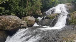 Melihat Keindahan Air Terjun Indo Rannuang di Polman