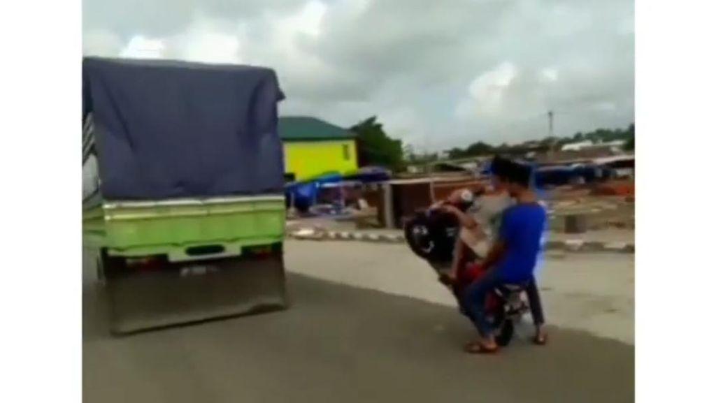 Aksi Freestyle Ugal-ugalan Kembali Terjadi di Parepare, Polisi Turun Tangan