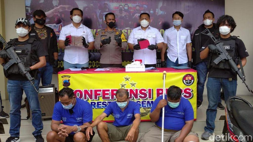Todongkan Air Gun, Sekuriti Toko Emas di Semarang Rampas Duit Ratusan Juta