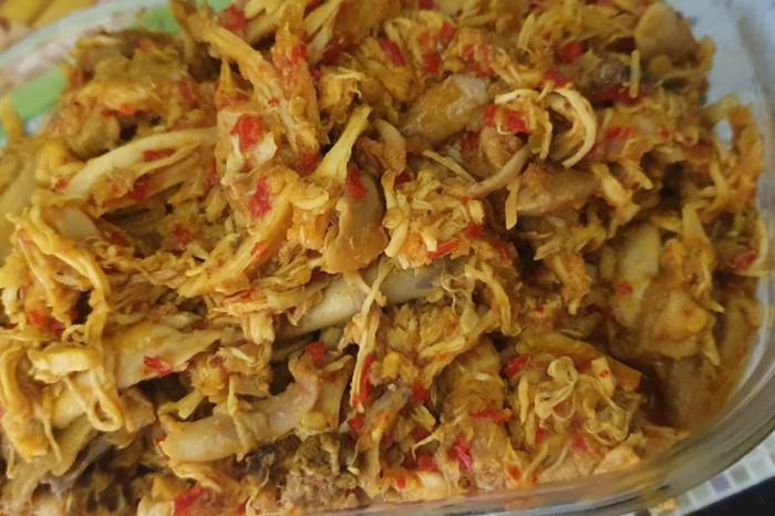 Ayam Suwir Pedas