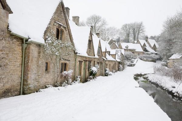 Tapi saat musim dingin, keadaannya sedikit berbeda namun tetaplah cantik. (Getty Images/iStockphoto)