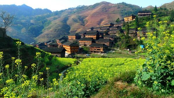 Desa ini dikenal dengan nama Teras Sawah Longji.(Getty Images/iStockphoto)