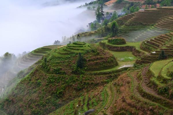 Karena pemandangannya, desa ini disebut-sebut yang paling indah di China.(Getty Images/iStockphoto)