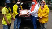 Lewat Gerak BS, Bamsoet Beri Bahan Makanan ke Korban Banjir Jaksel