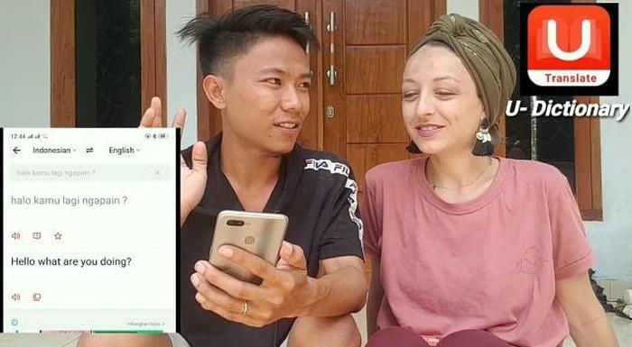 Viral pria asal Lombok ini berhasil menikah dengan bule Prancis
