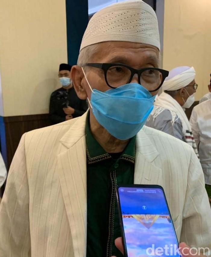 Ketua Majelis Ulama Indonesia (MUI) KH Miftachul Akhyar