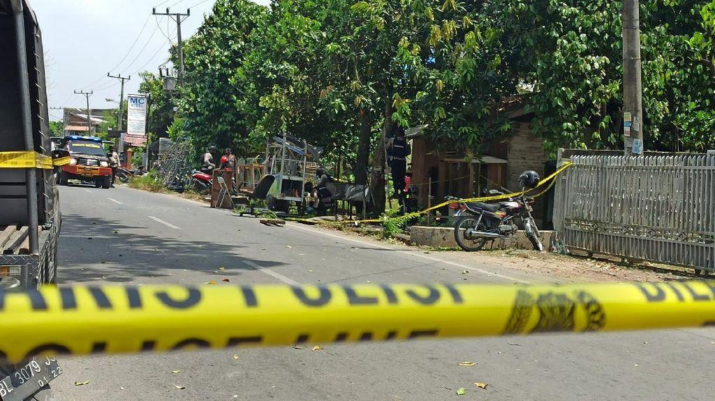 Polisi Tunggu Hasil Labfor soal Penyebab Ledakan di Banda Aceh