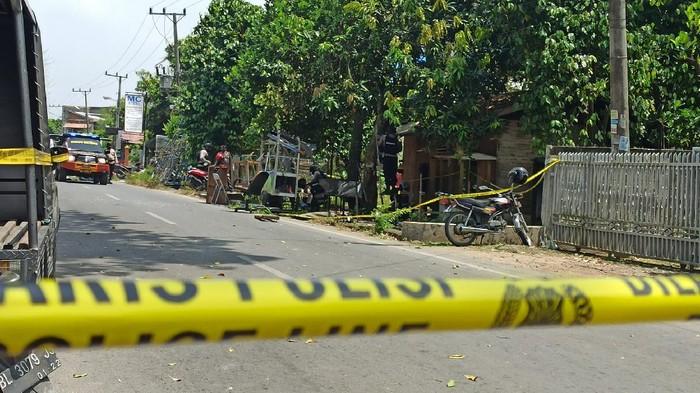 Lokasi ledakan di Banda Aceh (Agus Setyadi-detikcom)