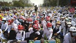 Aktif Beritakan Kudeta, 5 Media di Myanmar Dicabut Izinnya