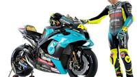 Rossi Gabung, Motor Yamaha M1 Petronas SRT Kebanjiran Sponsor