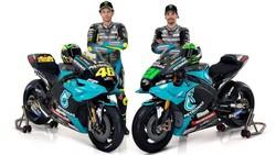 MotoGP 2021: Rossi-Morbidelli Setim, Kenapa Knalpot dan Rantai Motornya Beda?