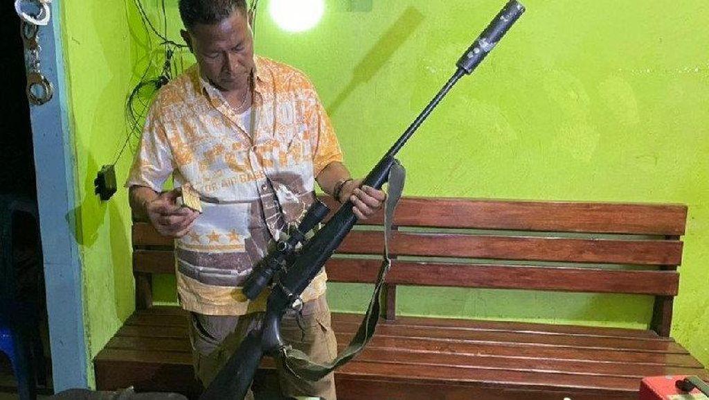 3 Perakit Senpi Ditangkap di Merauke, Bisa Bikin Seperti Milik TNI-Polri