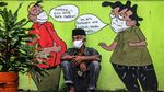 Foto: Kilas Balik 1 Tahun Corona di Indonesia